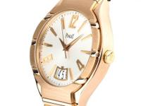 This is a Piaget, Polo for sale by WatchUWant. The