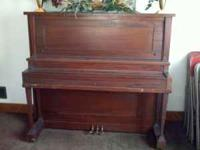 This piano is pretty old, 1950s or 1960s, but it still