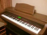 I'm selling my piano I want to get a more portable one