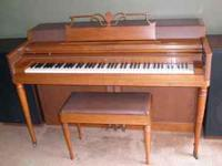 Wurlitzer piano. Good condition. 300.00 OBO . Leave