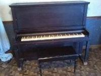 Vose & Sons, of Boston Mass. upright piano. sounds