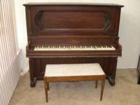I am selling an upright vose and sons piano, from what