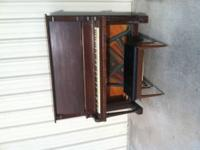 Piano is in working order. Well used but still plays.