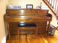 I need to get this piano out to make room for my new