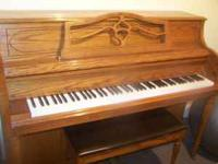 Samick console piano in good condition 700.00 obo.