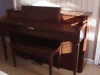 Baldwin Piano purchased new in 1976 from McCready