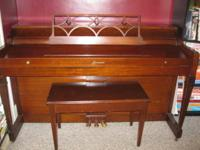 Must sell a Great little starter Piano ~ 57 1/4 Wide X