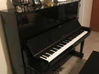 Beautiful Aeolian upright piano. Tuned and maintained