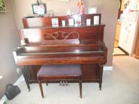 Piano for sell..bought it from Oakley church in good