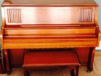 Story and Clark Church Piano, in good condition with