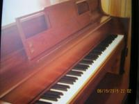 Piano By Storey and Clark in good condition. $650.00