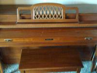 THIS BALDWIN PIANO IS IN REALLY GREAT SHAPE; IT WAS