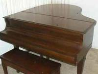PIANO, GULBRANSEN, Clean and Sounds Good! About five