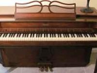 BALDWIN ACRSONIC PIANO, EXCELLENT CONDITION,ASKING