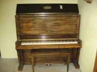 I have a piano for sale. It is in good condition. The