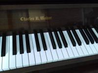This piano is in near perfect condition and has