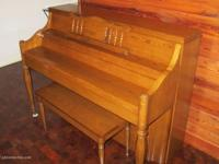 Beautiful piano, hand signed by Charles Walter.