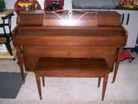 Full size Kohler & Campbell console piano. Great
