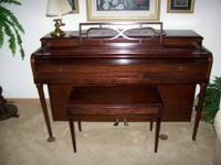 Piano is in great condition. Cash only. Let me know if