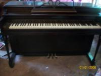 I have a Winters Spinet piano that I would  like to