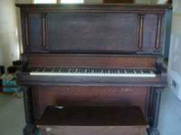 This is an upright church piano that sounds good and is