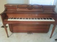 Story & & Clark upright piano for sale. Great