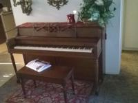 Hi I have a Kohler and chase piano for sale I bought it