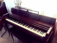 Wurlitzer piano for sale. My daughter has been playing