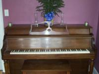 Free piano in good condition. Needs to be tuned. .