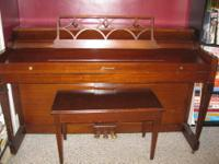 Small Piano Good Condition, has a few scratches,not to