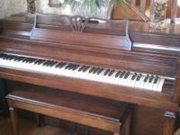 Beautiful Upright Gulbransen, excellent condition.