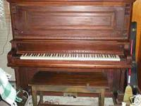 Nice Hobart Cable upright Piano. $300 obo. Call Ann