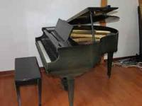 "Kimball 4'-6"" Baby Grand Piano, built around 1904. Good"