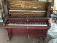 """The Meister Piano was produced and offered by the"