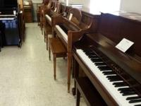 Great selection of new and used pianos in stock -