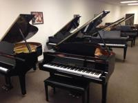 PIANO SALE!!! STEINWAY AND YAMAHA GRANDS AND