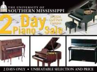 Piano Sale this weekend only!!!!!!!!!! Univeristy of