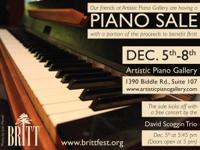 Artistic Piano in Medford in Conjunction with the