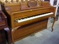 This is a Story & Clark piano in very good condition.
