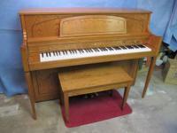 "Piano Yamaha 44"" console Model M450 Ser # TAO 221341"