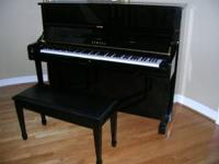 We love Yamaha piano, that's why we got a Yamaha grand