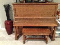 Piano - $100 OBO - Contact Craig at