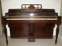 Winter's Piano # 230787. In good condition but two keys