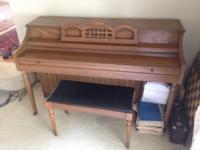 Whitney upright piano. Very good condition, just in