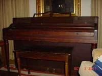 I have a spinet piano and bench for sale. Will make a