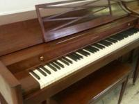 Great choice of brand-new and secondhand pianos in