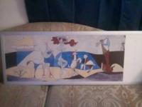I have a large Picasso reproduction that measures about