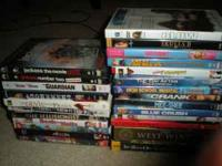 I have a list of DVDs here. Pick any 10 for only $25