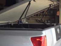 Nissan Titan P/U fiberglass bed cover ,