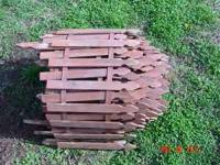 I have some small picket fencing border for sale which